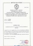 NKK Certificate Fire equipment